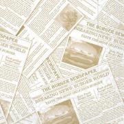 Burgerpapier NEWSPAPER BEIGE 30 x 30 cm