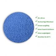 Mikrofasertuch ROT 30 x 30 cm