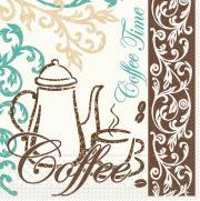 Tissue-Serviette 33x33 cm; 800 Stück im Karton; Typ: COFFEE/TEA