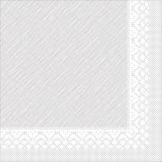 Tissue-Deluxe Serviette WEISS 40x40 cm