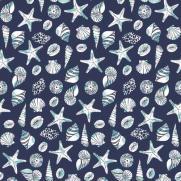 Tischdecken aus Linclass BEACH BLAU 80 x 80 cm