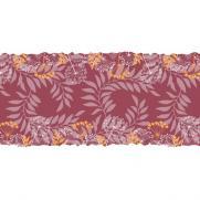 Linclass-Tischläufer GORDON BORDEAUX 40 cm breit