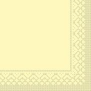 Tissue-Serviette 25x25 cm; 1000 Stück im Karton; Farbe: creme