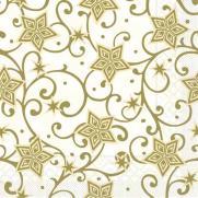 Tissue-Serviette JOSH champagner-gold; 33x33 cm; 800 Stück im Karton