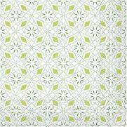 Tissue-Serviette MIA GRÜN 40 x 40 cm