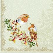Tissue-Serviette PIPPA BEIGE 40 x 40 cm