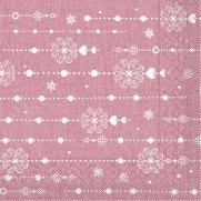 Tissue-Serviette STELLA BORDEAUX  33x33 cm; 800 Stück im Karton