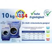 Vollwaschmittel POWER phosphatfrei, 10 kg