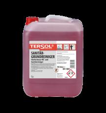 TERSOL Sanitärgrundreiniger, Hochviskoser Blitz-WC-Grundreiniger, 10 Liter
