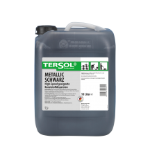 TERSOL Metallic schwarz, High-Speed geeignete Kunststoffdispersion, 10 Liter