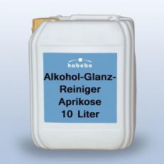 Alkohol-Glanzreiniger, Duft Aprikose, 10 Liter * *