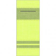 Besteckserviette BROOKLYN LIME-OLIV 40 x 33 cm 1/8-Falz