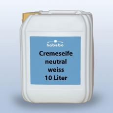 Seifencreme weiss, neutral parfümfrei, handmild, 10 Liter