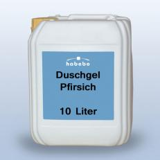 Duschgel, pfirsich, hautmild, 10 Liter * *