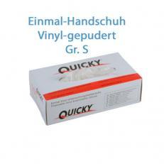Vinyl Schutzhandschuhe gepudert; Größe S; 100 Stk. im Pack