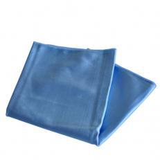 Glaspolier- & Bodentuch 50 x 60 cm, blau,  20 Stk./Pack