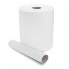 Papier-Handtuch-Rolle, hochweiss, 6x140m * *