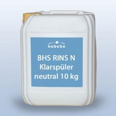 Klarspüler neutral für Glas und Kunststoff BHS RINS N; 10 kg