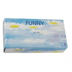 Kosmetiktücher weiß, 2-lagig, 40 x 100 Stück im Karton