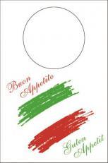 LÄTZCHEN ITALIA 42 x 60 cm; 200 Stück im Karton