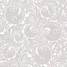 Linclass-Serviette JORDAN silber 48 x 48 cm; 500 Stück im Karton