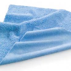 Mikrofaser Staub- und Poliertuch, ca. 40 x 40 cm blau