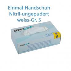 Nitril Schutzhandschuhe puderfrei; Größe S; 100 Stk. im Pack
