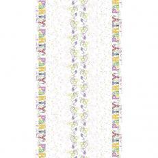 Tischdeckenrolle LET´S PARTY PINK-VIOLETT aus Papier, 120 cm x 25 lfm, 9 Rollen im Karton
