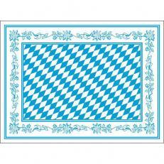 Tischset BAYERN aus Papier 30 x 40 cm; 500 Stück im Karton