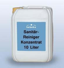 Sanitärreiniger-Konzentrat, RK-gelistet, 10 Liter * *