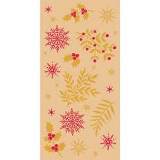 Softpoint-Serviette ALVIN GOLD-ROT 40 x 40 cm 1/8-Falz