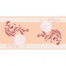 Linclass-Tischläufer CLARISSA BORDEAUX 40 cm breit