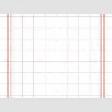 Tischset BILL ROT aus Linclass 40 x 30 cm