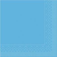 Tissue-Serviette 25x25 cm; 1000 Stück im Karton; Farbe: AQUA BLAU