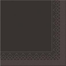 Tissue-Serviette 25x25 cm; 1000 Stück im Karton; Farbe: BRAUN