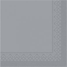 Tissue-Serviette 25x25 cm; 1000 Stück im Karton; Farbe: GRAU