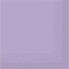 Tissue-Serviette 25x25 cm; 1000 Stück im Karton; Farbe: LILA
