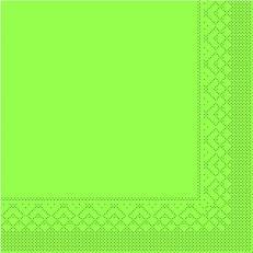 Tissue-Serviette 25x25 cm; 1000 Stück im Karton; Farbe: KIWI