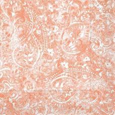 Tissue Serviette FELICIA TERRAKOTTA 40 x 40 cm; 1200 Stück im Karton