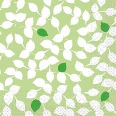 Tissue Serviette SILAS GRÜN 40 x 40 cm