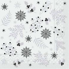 Tissue-Serviette ALVIN GRAU 33 x 33 cm