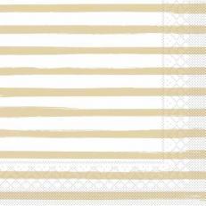 Tissue-Serviette BEA BEIGE 40 x 40 cm