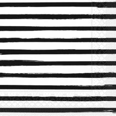 Tissue-Serviette BEA SCHWARZ 40 x 40 cm