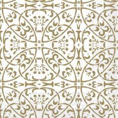 Tissue-Serviette CLAUDIO GOLD 40 x 40 cm