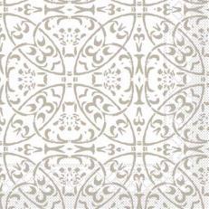 Tissue-Serviette CLAUDIO HELLGRAU 40 x 40 cm