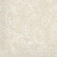 Tissue-Serviette DARLYN HELLBRAUN 25x25 cm