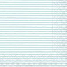 Tissue-Serviette HEIKO HELLBLAU 40 x 40 cm