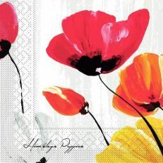 Tissue-Serviette IVONNE GRAU 40 x 40 cm