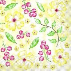 Tissue-Serviette JANNE 33 x 33 cm
