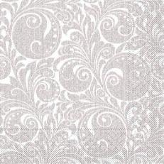Tissue-Serviette JORDAN silber 40x40 cm; 1200 Stück im Karton